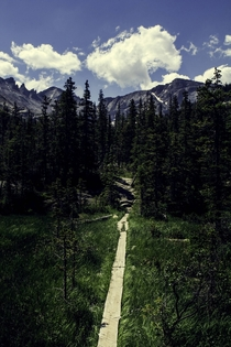 Pathway to the Rockies