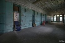 Patient Rooms Inside an Abandoned State Hospital