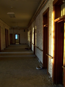 Patient Ward Abandoned State Hospital NH