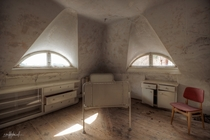 patients room  sanatorium C in Germany by scruffybread