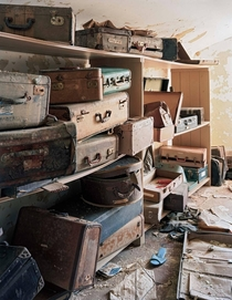 Patients suitcases left behind Bolivar State Hospital TN