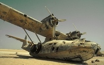 PBY Catalina wreck from  located in Saudi Arabia More info in comments
