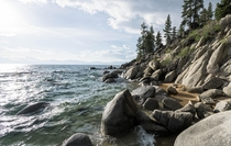 Peace and quiet on Lake Tahoe