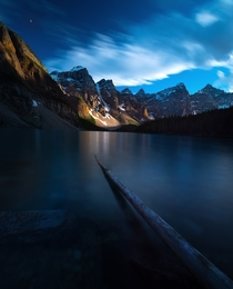 Peaceful lake in the Canadian Rockies - By Mark Vanderkam