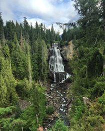 Peaceful Waterfall in British Columbia