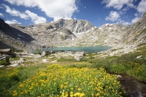 Peak Lake - Wind River Range WY by MetalBackpacker