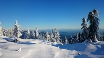 Peak of Cypress Mountain Vancouver BC