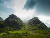 Peaks of Enchantment the Glencoe Mountains Scotland Joana Bochecha