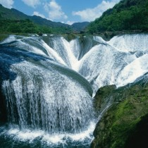 Pearl waterfall China
