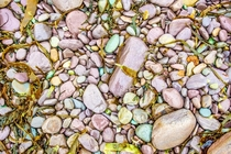 Pebbles on a beach Ring of Kerry Ireland