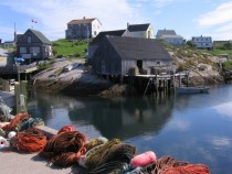 Peggys Cove Harbour Nova Scotia
