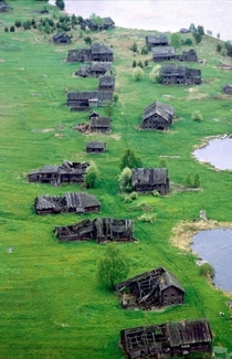 Pegrema Russias Mysterious Lakeside Ghost town