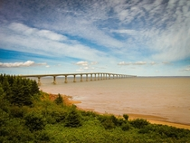PEI Bridge New Brunswick