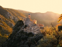 Peillon in the Alpes-Maritimes France