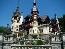 Pele Castle in Romania