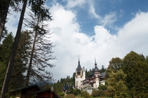 Peles Castle in Sinaia Romania