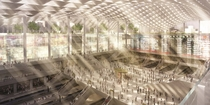 Penn  - Concept for the reconstruction of the New York Pennsylvania Station picture source masorg