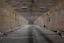 Pennsylvania Turnpike Tunnel thats more than a mile long