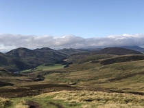 Pentland Hills Allermuir Hill Scotland