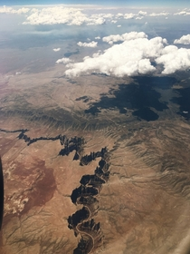 People seem to have enjoyed my photo with Little Colorado River from above