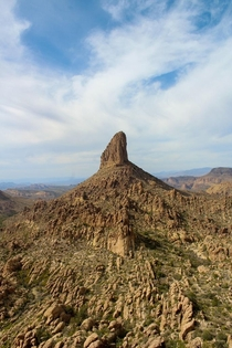 Peralta Trail is one of the coolest hikes and when finished youre rewarded with this epic view of Weavers Needle