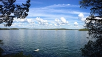 Percy Priest Lake near my home in Nashville Tennessee Beautiful day in the south