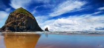 Perfect day at Haystack Rock - Cannon Beach Oregon