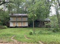 Perfect little house Ive always wanted to see the inside of Northeast Al on an old dirt road Not quite sure its completely abandoned as the grass is cut and those boards did not use to be there