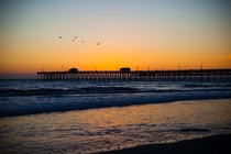 Perfect Summer Sunset - San Clemente Pier