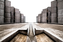 Perfect Symmetry at the Salk Institute in UCSD in San Diego CA