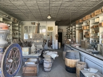 Perfectly preserved interior of a shop in the ghost town on Bodie CA