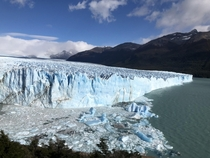 Perito Moreno one of the few growing glaciers in the world