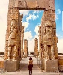 Persepolis The ancient ceremonial capital of the Achaemeneid empire  BC UNESCO World heritage site of Iran