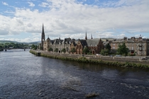 Perth Scotland from the Old Bridge