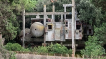 Peruginis Experimental Home near Rome Italy Completed in  and abandoned after his death in