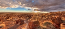 Petrified Forest National Park  Photo by Martin van Hemert original source and D panorama in comments