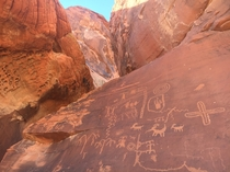 Petroglyphs - Valley of Fire