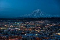 Petropavlovsk-Kamchatsky a city in the Russian Kamchatka Peninsula
