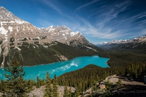 Peyto Lake Alberta Canada Photo by Debbie Tubridy
