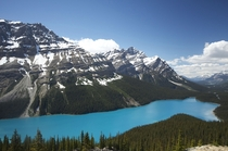 Peyto Lake Alberta I can finally say I crossed that off the bucket list a turquoise lake