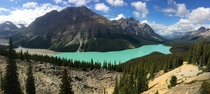 Peyto Lake Banff AB