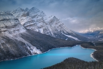 Peyto Lake Banff Canada by Sergei Mou