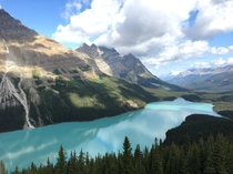 Peyto Lake Banff Canada - shot on an iPhone s  x