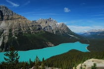 Peyto Lake - Banff National Park - Alberta Canada -