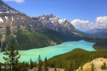 Peyto Lake - Canadian Rockies Icefields Parkway