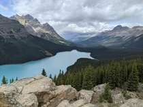 Peyto Lake Canadian Rockies   x