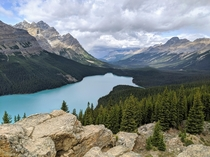 Peyto Lake Canadian Rockies  x   - Google Pixel