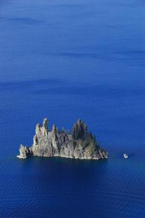 Phantom Ship Island Crater Lake Oregon USA taken last week