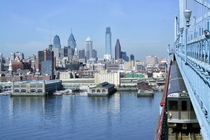 Philadelphia from Ben Franklin Bridge