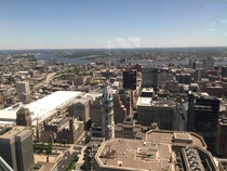 Philadelphia from Liberty One Observation Deck  x